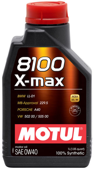 Motul 0W-40 Engine Oil